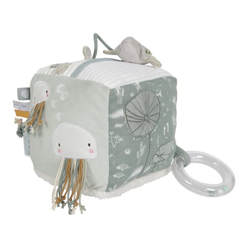Picture of Soft activity cube Ocean Mint
