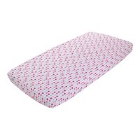 Drap-housse 70x140/150 Mixed Stars Pink
