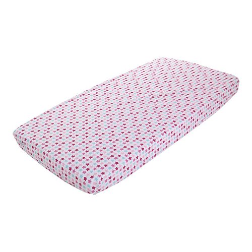 Picture of Fitted sheet 70x140/150 Mixed Stars Pink