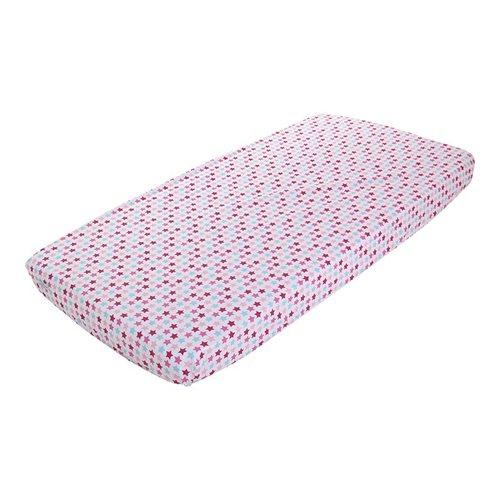 Spannbetttuch 70x140/150 Mixed Stars Pink