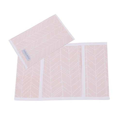 Picture of Check-up booklet cover, large Peach Leaves