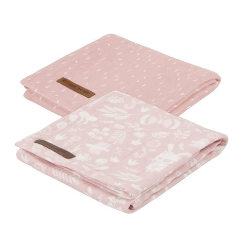 Picture of Swaddle 70 x 70 Adventure Pink (set of 2 designs)