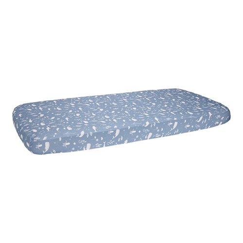 Picture of Fitted sheet 70x140/150 Ocean Blue