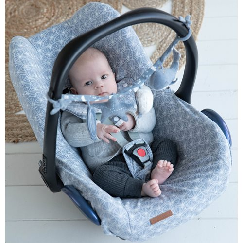 Picture of Stroller toy chain Ocean Blue