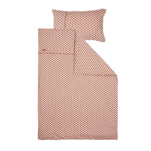 Picture of Cot duvet cover Sunrise Rust