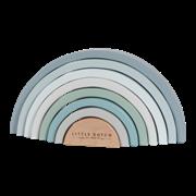 Afbeelding van Regenboogstapelaar blauw