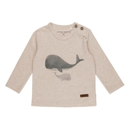 T-Shirt 74 langen Ärmeln Wal - Ocean