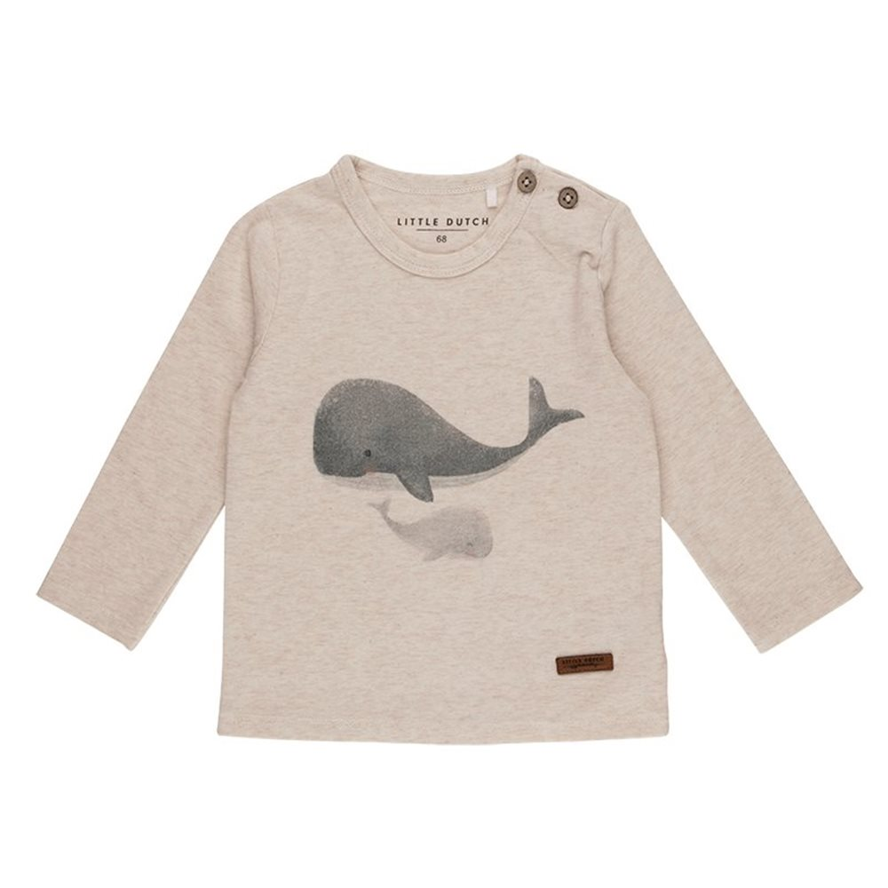 T-shirt 68 manches longues Baleine - Ocean
