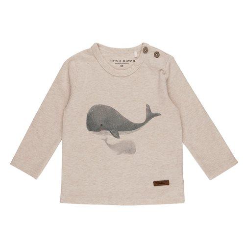 T-Shirt 56 langen Ärmeln Wal - Ocean