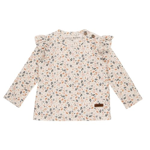 Afbeelding van T-Shirt 68 all-over print lange mouw - Spring Flowers