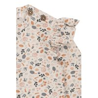 Picture of Tshirt all-over print lange mouw - spring flowers - 68