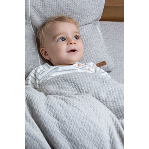 Picture of Cot blanket cover Pure Grey