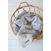 Picture of Bassinet duvet cover Pure Grey