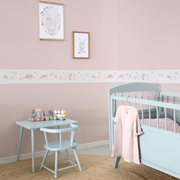 Picture of Non-Woven Wallpaper Sprinkles Pink