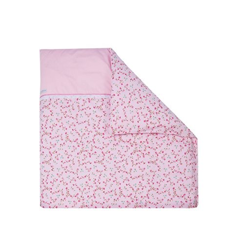 Picture of Bassinet blanket cover - Pink Blossom