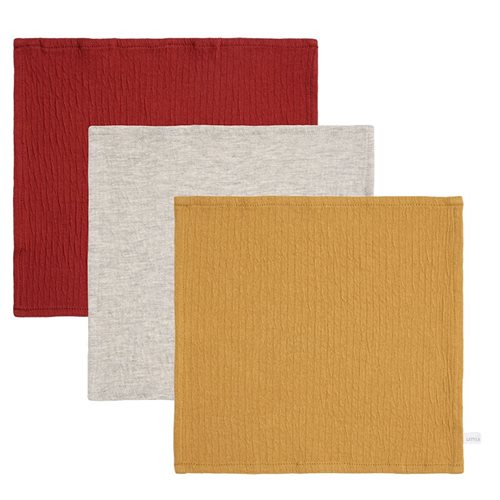 Picture of Facecloths Pure Indian Red / Ochre