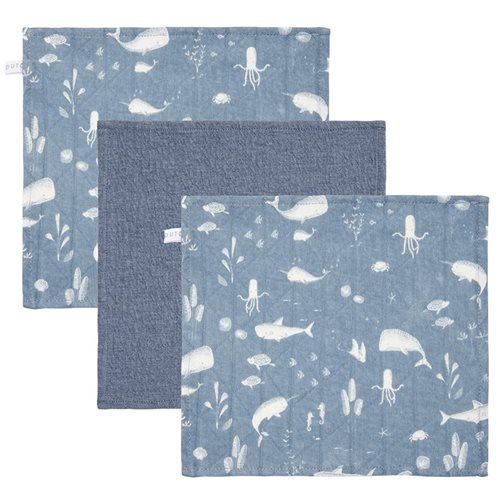 Picture of Facecloths Ocean Blue / Pure Blue