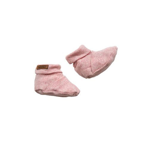 Picture of Baby booties 17/18, Pink Melange