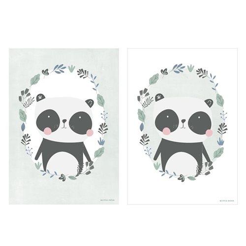 Poster Panda mint