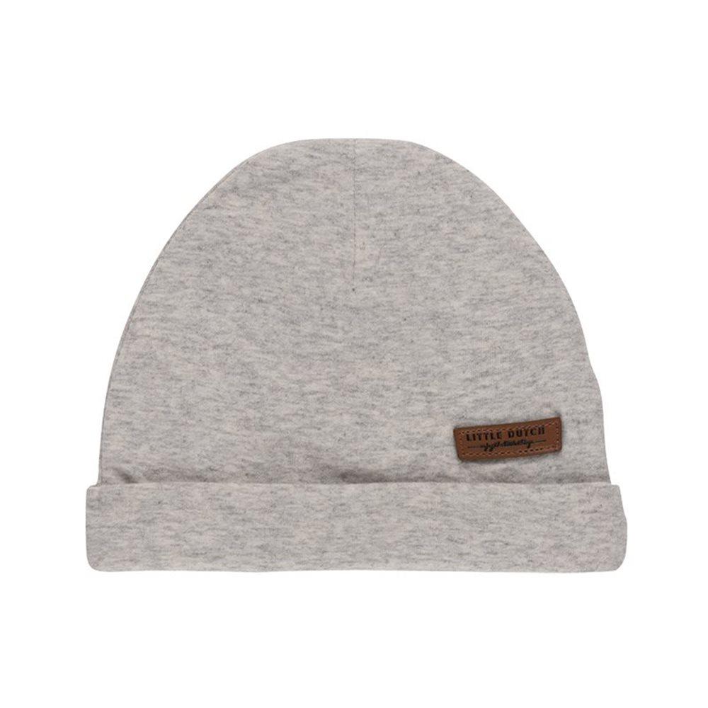 Bonnet bébé Grey Melange - Taille 1