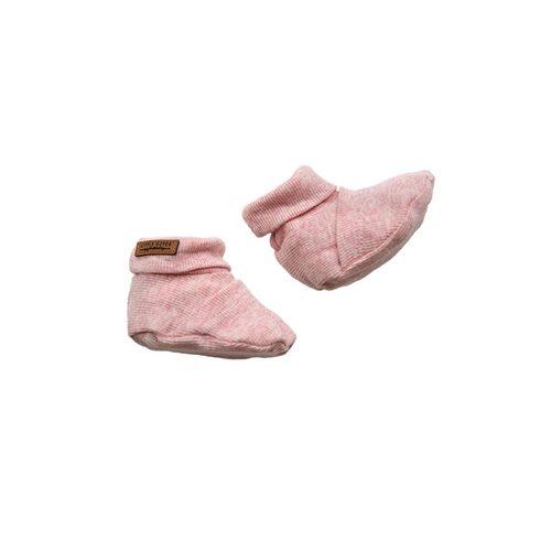 Picture of Baby booties 15/16, Pink Melange