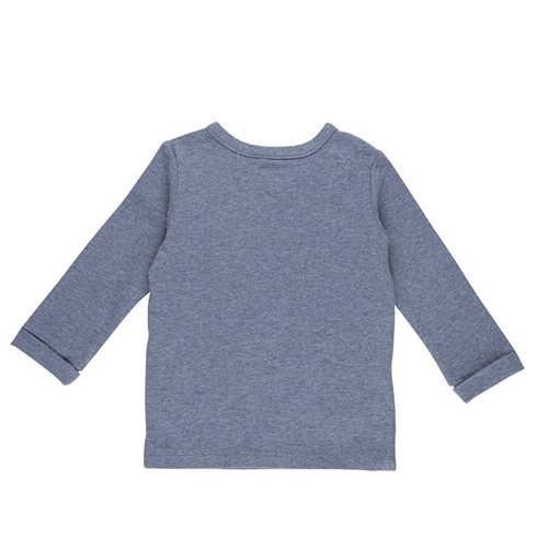 Afbeelding van Overslag shirt 68 - Blue Melange