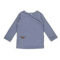 Baby-Wickelshirt 68 - Blue Melange