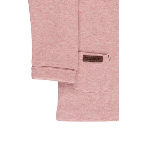 Picture of Overslag shirt pink melange - 62