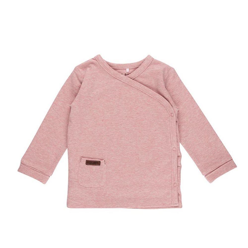 Baby-Wickelshirt 62 - Pink Melange