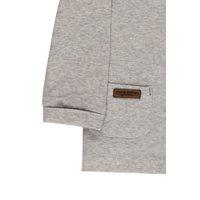 Picture of Overslag shirt grey melange - 62