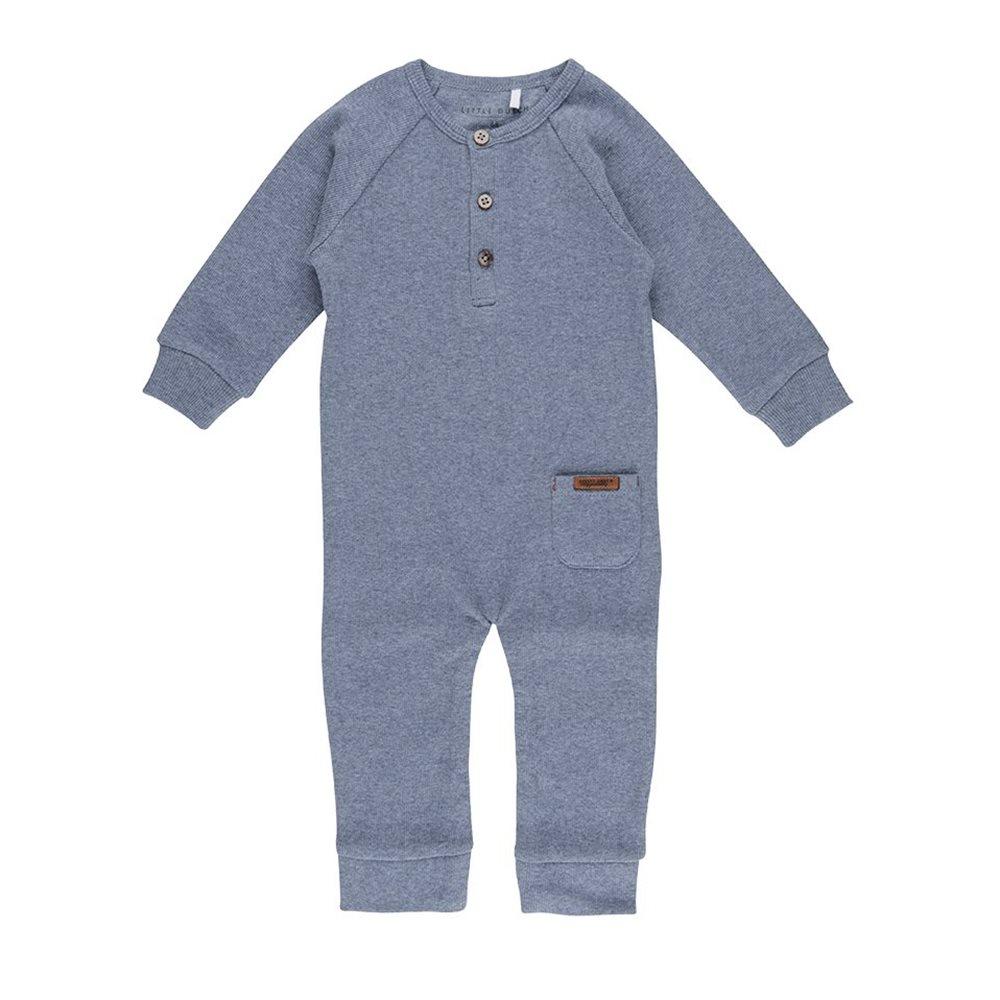 Combinaison bébé 68 - Blue Melange