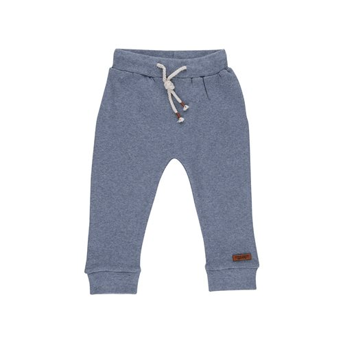 Picture of Baby Trousers 68 - Blue Melange