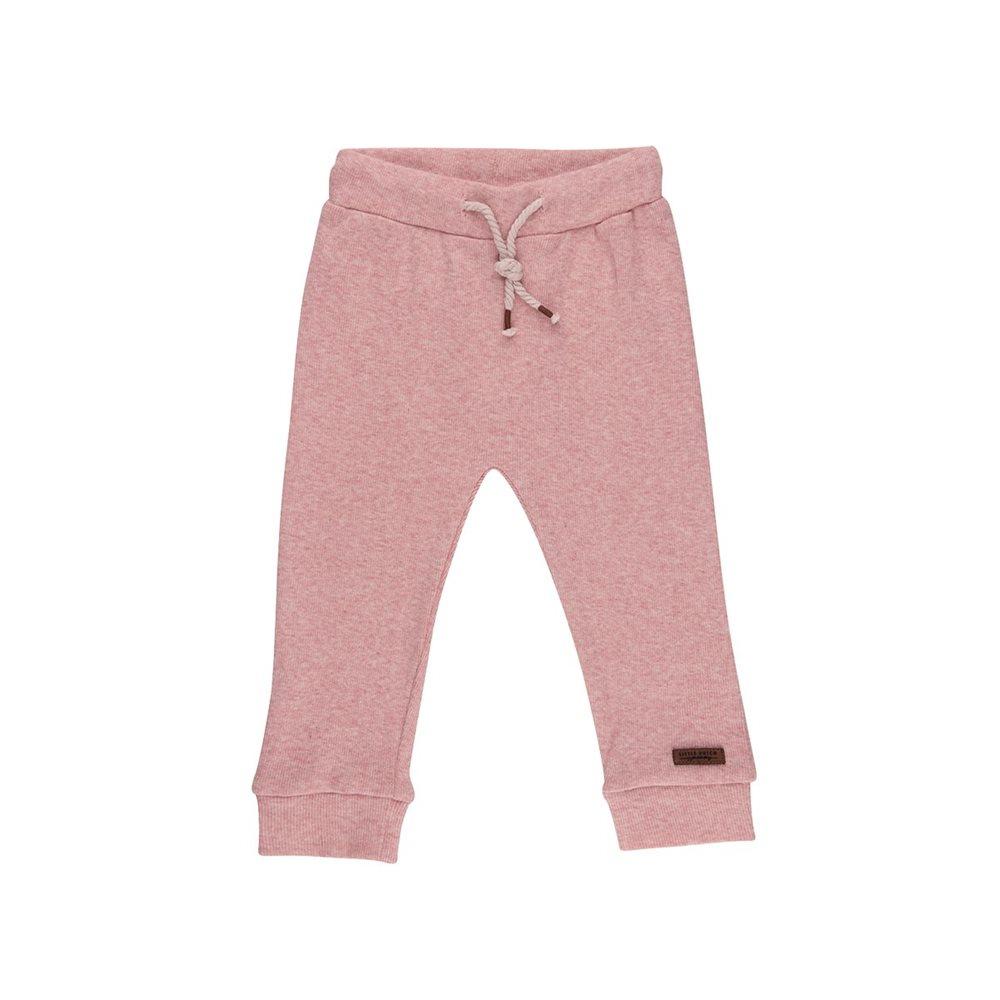 Pantalon bébé 74 - Pink Melange