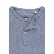 T-shirt 62 manches longues Blue Melange