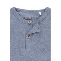 Picture of Tshirt lange mouw blue melange - 62