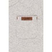 T-Shirt 62 langen Ärmeln Grey Melange