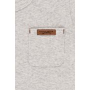 T-shirt 68 manches longues Grey Melange