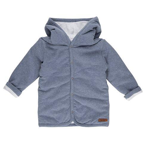 Baby-Jacke 62 Blue Melange - Ocean