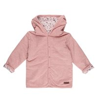 Baby-Jacke 56, Pink Melange - Spring Flowers