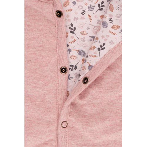 Picture of Baby jacket 68, Pink Melange - Spring Flowers