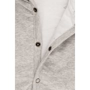 Picture of Baby jacket 62, Grey Melange - Ocean