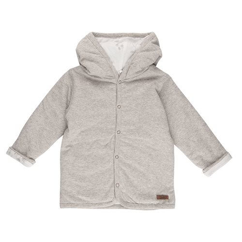 Baby-Jacke 62, Grey Melange - Ocean