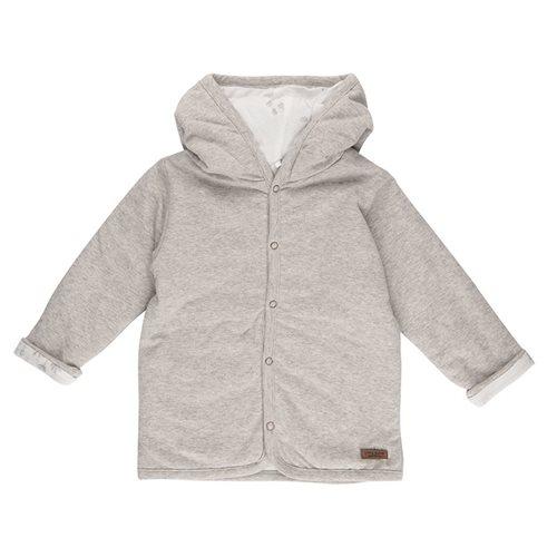Picture of Baby jacket 74, Grey Melange - Ocean