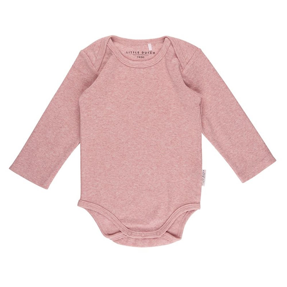 Body manches longues 50/56 - Pink Melange