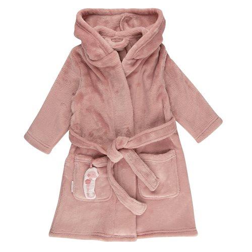 Baby-Bademantel Pink 74/80 - Ocean