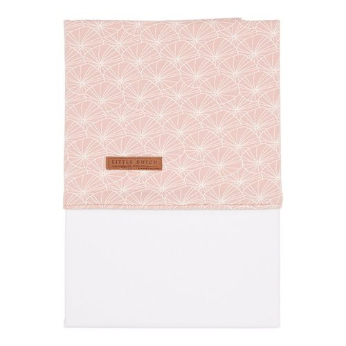 Picture of Bassinet sheet Lily Leaves Pink