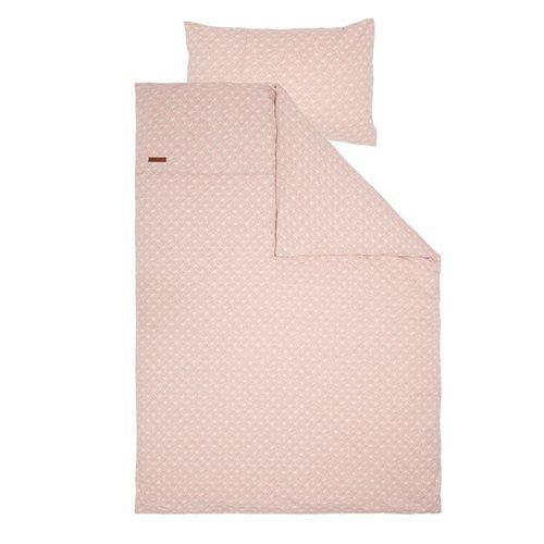 Kinderbettbezug Lily Leaves Pink