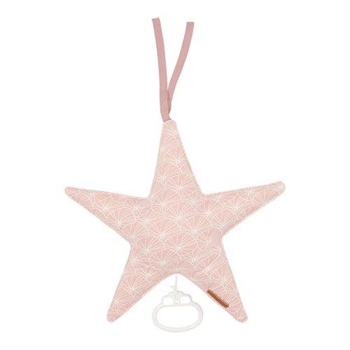 Afbeelding van Muziekdoos Ster Lily Leaves Pink