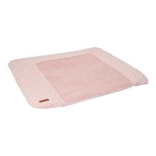 Picture of Changing mat cover Germany Lily Leaves Pink
