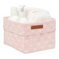 Panier de toilette petit Lily Leaves Pink